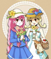 Country Girly Girls by Iris-Zeible