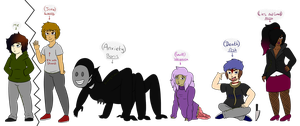 Meet the voices by Grandmommyo