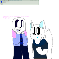 Sans and Children Question #6: Nighty Transform by cjc728