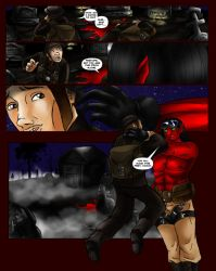 Warchild Page Five by Fanglicious