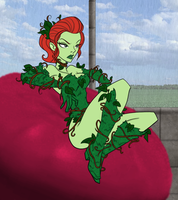 Poison Ivy is not amused by Blackmoonrose13