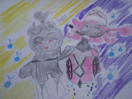 Marshadow and Tapu Lele