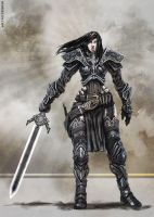 Female Warrior by bennyzien