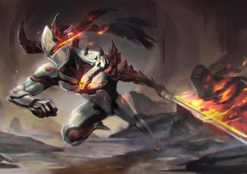 Demon Genji by jeffchendesigns