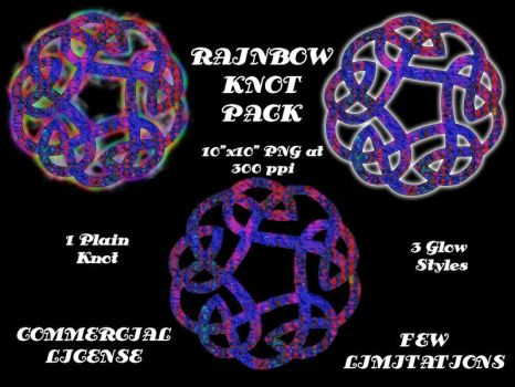 Rainbow Knotwork Pack by Aazari-Resources