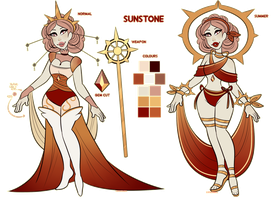 COMM: Sunstone Ref by sariasong64