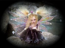 Polly the Fae ooak fairy by LindaJaneThomas
