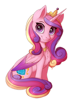 Princess Cadance by Evehly