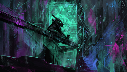 Neon rooftops by ThemeFinland