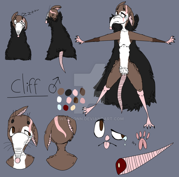 Cliff (old ref) by Wilssonn