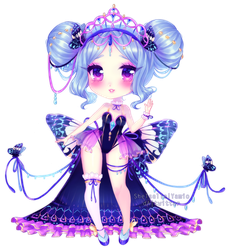 hanannie 2018: turquoise cracker by shelselle