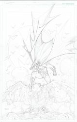 Batman commission pencils. by timothygreenII
