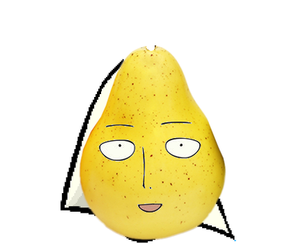 One punch Pear by naruto9988