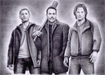 Supernatural drawing by whu-wei