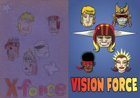 X-Force Vision Force 1988-2010 by DBed