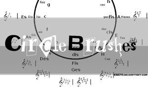 circle brushes by 836675