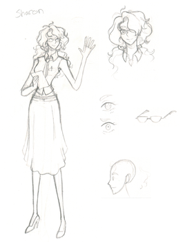 One piece oc- Sharon Sketches by Proxamina