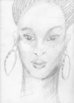 Princess Halima from novel The Blood of Titans by werewolfwriter