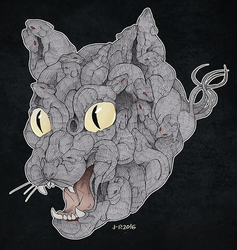 The Rat King by Loihtuja