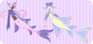 Mermaid Adopts [ 1/2 OPEN ] by OstrichAdopts