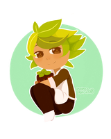 Fanart: Herb Cookie [Cookie run] by Useless--kun