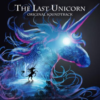 Album Redesign Project - The Last Unicorn by Moth-Doll