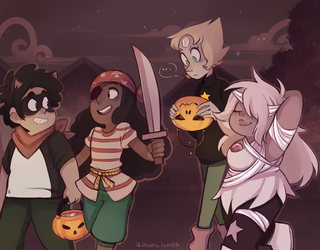 Su Trick or Treat by ikimaru-art