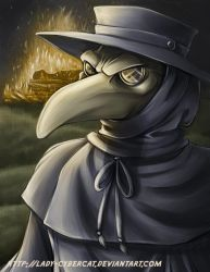 Plague Doctor Commission by lady-cybercat