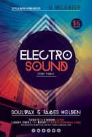 Electro Sound Flyer by styleWish