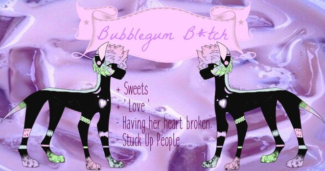 Bubblegum Bitch (Mystery Aesthetic Reveal) by CynderAsh