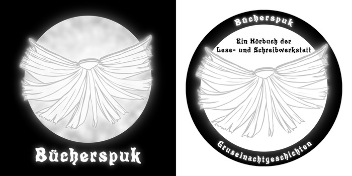 Buecherspuk CD cover by RetSamys