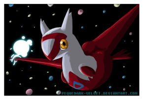 LATIAS: I AM ALIVE by PEQUEDARK-VELVET