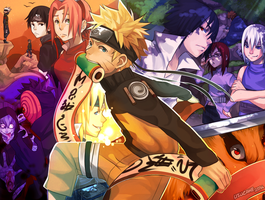 NARUTO: Scrolls of Memories by Uzucake