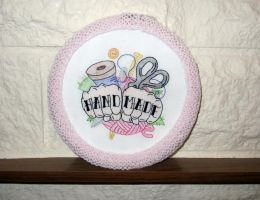 Hand Made Hoopla by VickitoriaEmbroidery