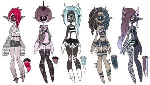 Xynthii Adopts: 24h Auction: 4/5 CLOSED/PENDING by ObsceneBarbie