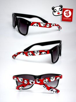 Panda Face Glasses by Bobsmade