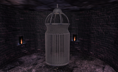 MMD Cage Prison by amiamy111