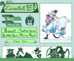 Rival-Gates NPCs: Lunette (Dione, Pallas, and Pan) by Srarlight