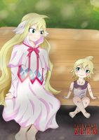 The Past and The Present of Mavis Vermillion by ryokudou