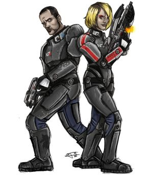 Here Come the Shepard Kids by ZolaPaulse