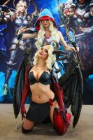 Gods and Glory Succubus Cosplay by AGflower