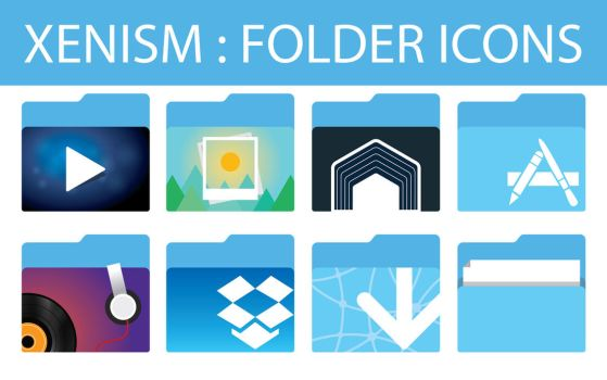 xenlism : folder icons by xenatt