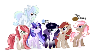 Main Six Adopts(OPEN) by NightingaleFanatic