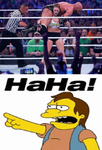 Nelson Laughs at Triple H by EarWaxKid