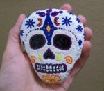 Mexican Skull Art by TinyAna