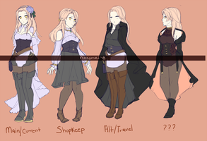 AR: Outfit refs by nozomei