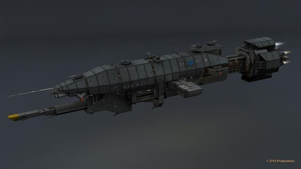 B5 Warlock Destroyer WIP 33 by 2753Productions