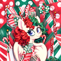 Candy Cane by JumbleHorse