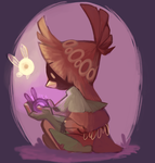 5-26-19 Skull Kid  by QueenCrow