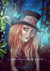 Lady Mad Hatter DF by jiajenn
